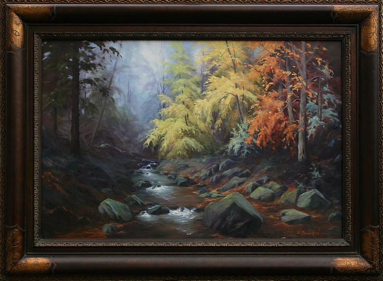 Obraz - Tajemství lesa