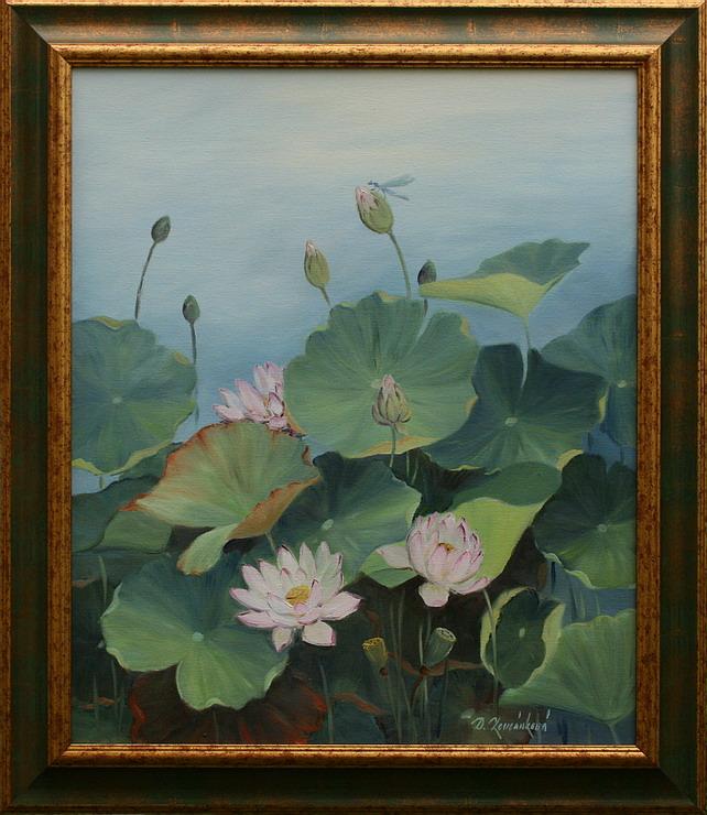 Obraz - Tajemství květu lotosu I.