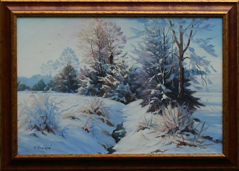 Obraz - Zimní snění