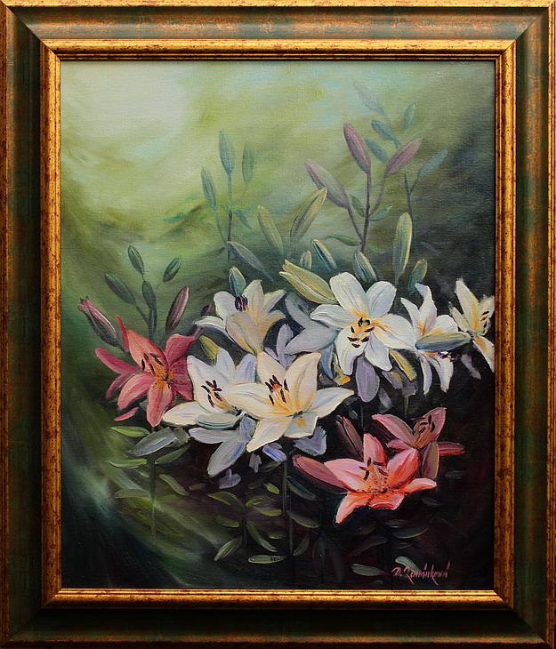 Obraz - V květu lilií