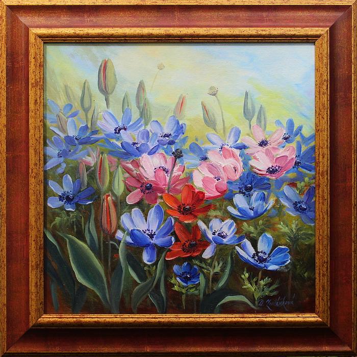 Obraz - V květu sasanek