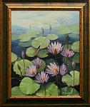 Obrazy - Kvetoucí lekníny