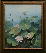 Obrazy - Tajemství květu lotosu I.
