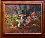 Obrazy - Lesní zátiší