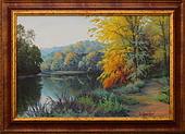 Obrazy - Podzim v Mariánském údolí