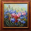 Obrazy - V květu sasanek
